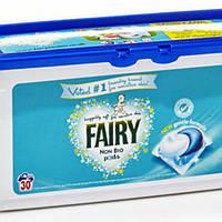 Капсули 3-х компонентні для прання Fairy