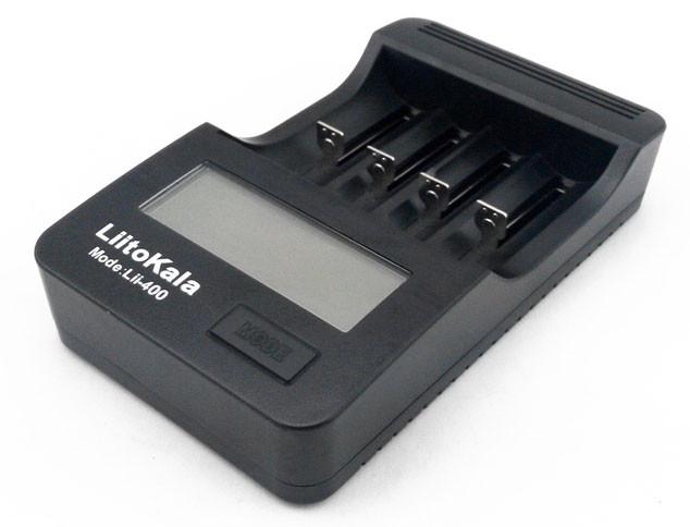 LiitoKala Lii-400 - Интеллектуальное зарядное устройство. Оригинал