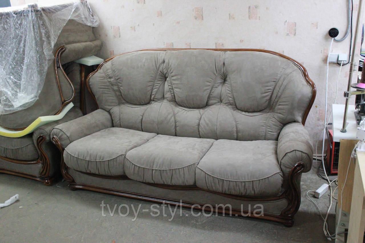 Перетяжка  мягкой мебели в Днепропетровске 8