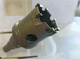 Сверло корончатое универсальное с твердосплавными напайками Topfix 14 мм