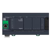 TM241CE40U Контроллер M241 40 входов/выходов транзистор NPN Ethernet