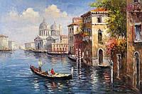 Набор алмазной живописи Венецианский канал 60 х 40 см (арт. FR521)