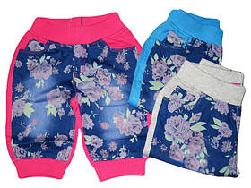 Бриджи трикотажные для девочек, Active Sports, размеры 98-128, арт. 3994