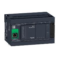 TM241CEC24U Контроллер M241 24 входов/выходов транзистор NPN Ethernet CAN master