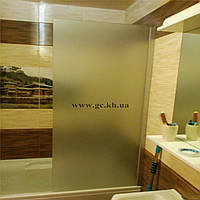 Шторка для ванной из стекла Glass Construct Харьков