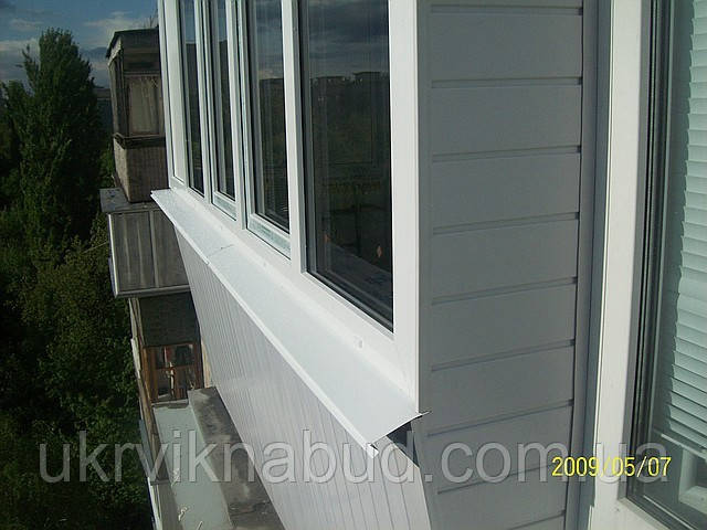 Наружная обшивка балкона цена