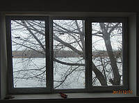 Металлопластиковое трехстворчатое окно Trocal в Киеве. Окна Киев. Цены на окна Киев, фото 1
