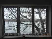 Металлопластиковое трехстворчатое окно Trocal в Киеве. Окна Киев. Цены на окна Киев