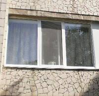 Металлопластиковое трехстворчатое окно ALMPlast недорого Киев, фото 1