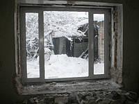 Трехстворчатое металлопластиковое окно Rehau Euro 60