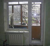 Балконный блок (выход на балкон) Trocal в Киеве купить недорого. Цена на балконный блок Киев, фото 1