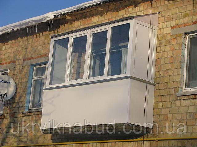 Балкон ALMPlast в Киеве купить недорого. Лоджия ALMPlast Киев.