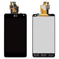Дисплей (LCD) LG E971 Optimus G/ E973/ E975/ E976/ E977/ E987/ F180 с сенсором черный
