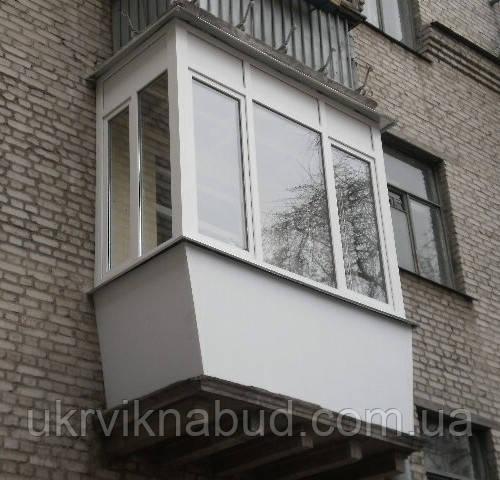 """Балкон под Ключ в Кредит """"Теплый Дом"""""""