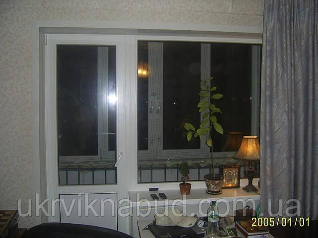 Балконный блок Rehau Euro 70 (выход на балкон) Киев и Киевская область