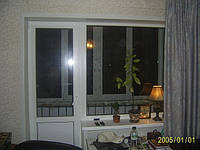 Балконный блок Rehau Euro 70 (выход на балкон) Киев и Киевская область, фото 1
