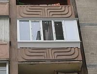 Балкон Rehau Euro 70 в Киеве купить. Лоджия Rehau Euro 70 Киев. Цены на балконы Киев