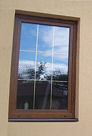 Металлопластиковое окно ALMplast со шпроссами.