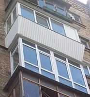 Балконы «под ключ» в Киеве. Балконы остеклить недорого, фото 1