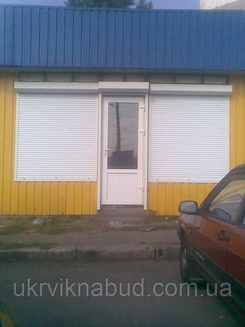 Роллеты защитные для дверей Киев