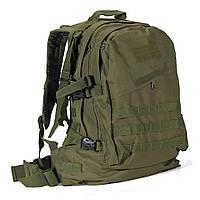 Тактический штурмовой многофункциональный рюкзак 35 л. камуфляж цифра, пиксель, пустыня, зеленый, городской