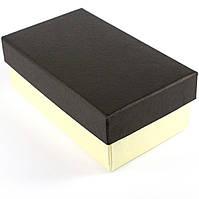 Подарочная коробка прямоугольная 15.5 x 9 x 6 см черная
