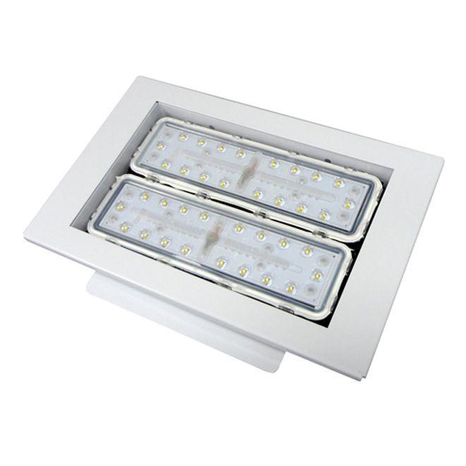 Модульный светодиодный светильник для АЗС Maxus Combee Petrol 100W 11000Lm