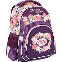 Рюкзак школьный ортопедический Kite Flower dream (K17-518S)