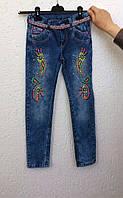 Красивые джинсы для девочки  11,12 лет