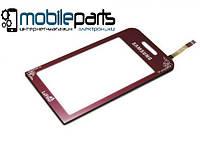 Оригинальный Сенсор (Тачскрин) для Samsung S5230 La Fleur (Красный)