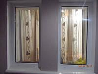 Металлопластиковое глухое окно КВЕ в Киеве купить недорого. Окна Киев