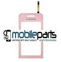 Оригинальный Сенсор (Тачскрин) для Samsung S5230 (Розовий)