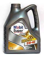 Mobil Super 3000 X1 5W-40 моторное масло синтетика - 4 литра.