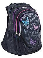 Рюкзак подростковый, School T-27 Butterfly
