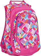 Рюкзак подростковый, School T-27 Pink