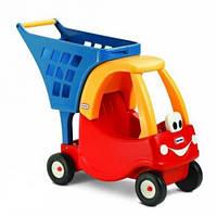 Детская Тележка для Продуктов с Коляской для кукол Little Tikes 618338