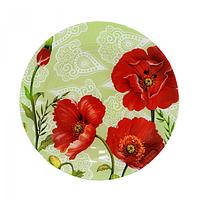 Тарелка круглая 20 см Альпийский мак SNT 337-5