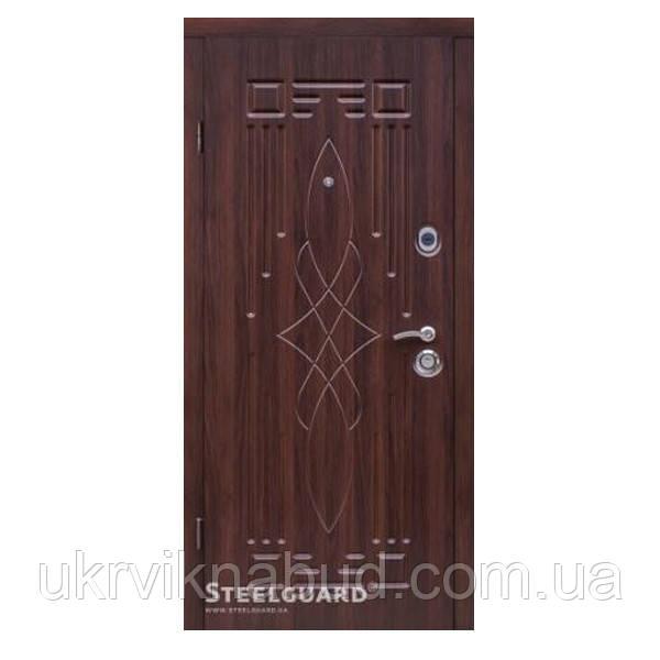 Элитные входные двери Серия MERIDIAN DO-16 Темный орех 110