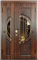 Входные двери в дом. Дверь двойная 1200*2050 Серия LARGO SOPRANO Big