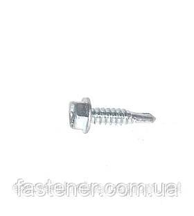 Саморез по металлу Impax 6,3х25 без шайбы сверл.(1,5-6,0) мм, упак.-250 шт, ESSVE