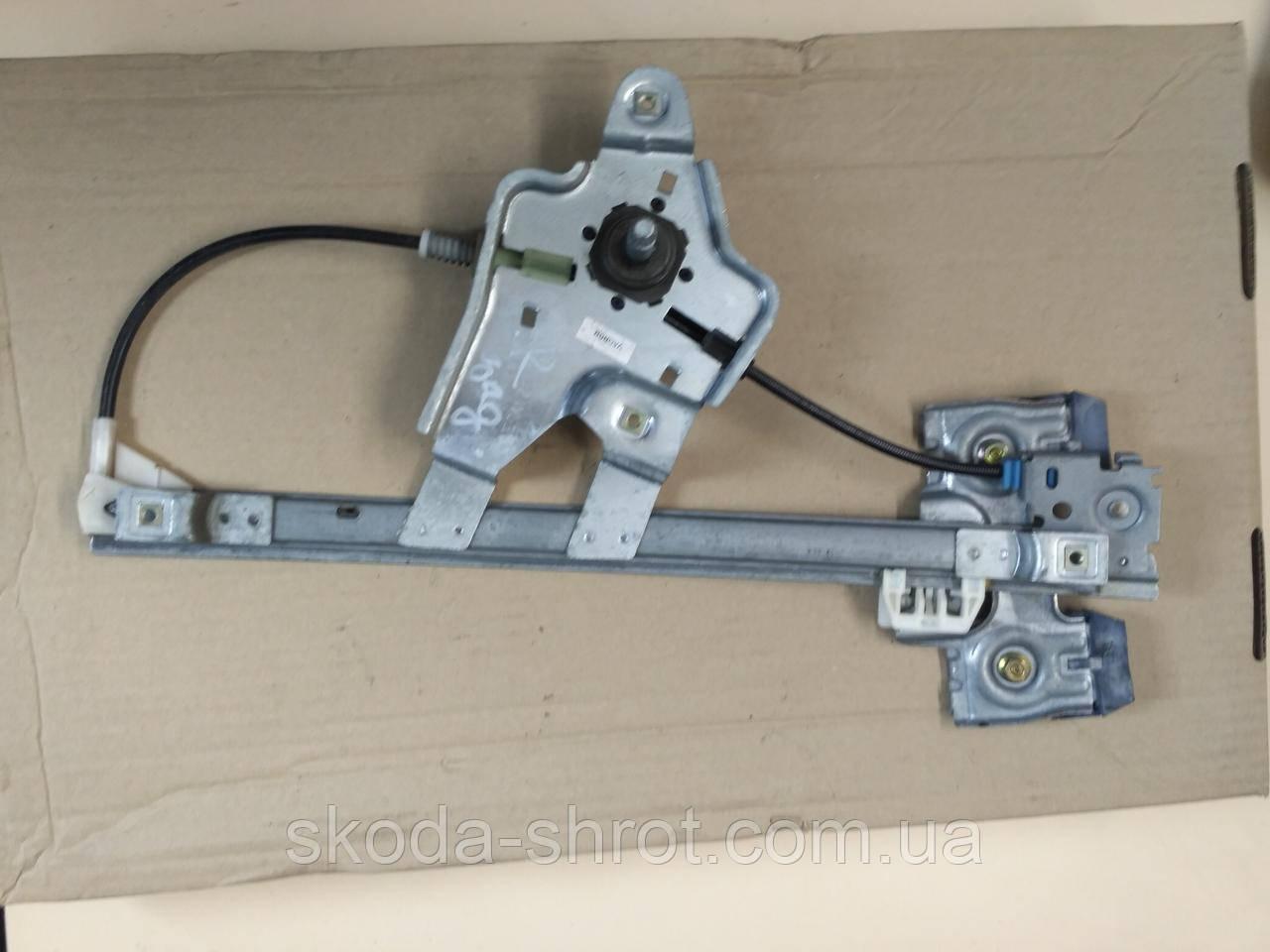 Стеклоподъемник правый задний 1U4839402E  Skoda Octavia Tour  механика ( ручной)