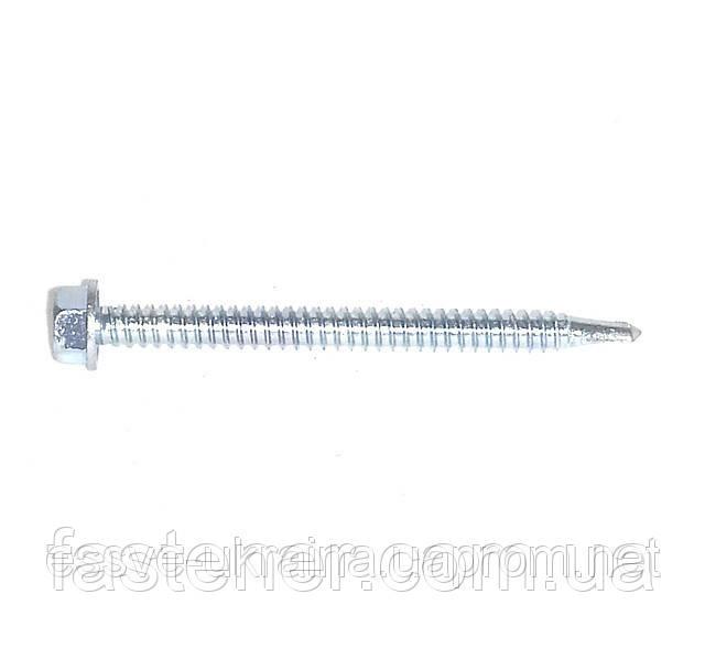 Саморіз по металу Impax 6,3х75 без шайби свердел.(1,5-6,0) мм, упак.-100 шт, ESSVE (Швеція)