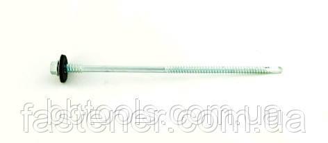 Саморез для сэндвич-панелей 5,5/6,3х150 с шайбой EPDM, сверл. 1,5-6,0 мм, упак-100 шт, ESSVE (Швеция)