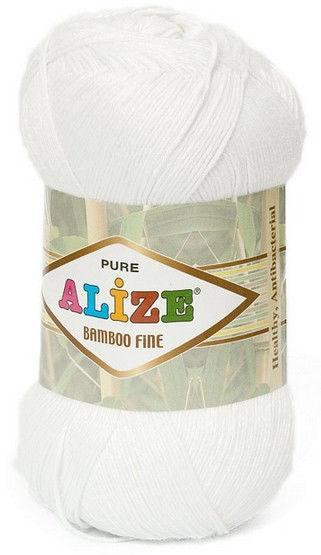Турецька пряжа для в'язання Alize Bamboo Fine. Колір 55