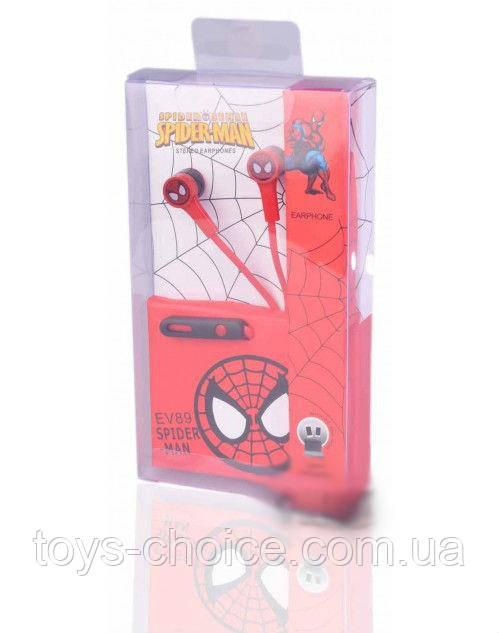 Наушники Spiderman Ev 89