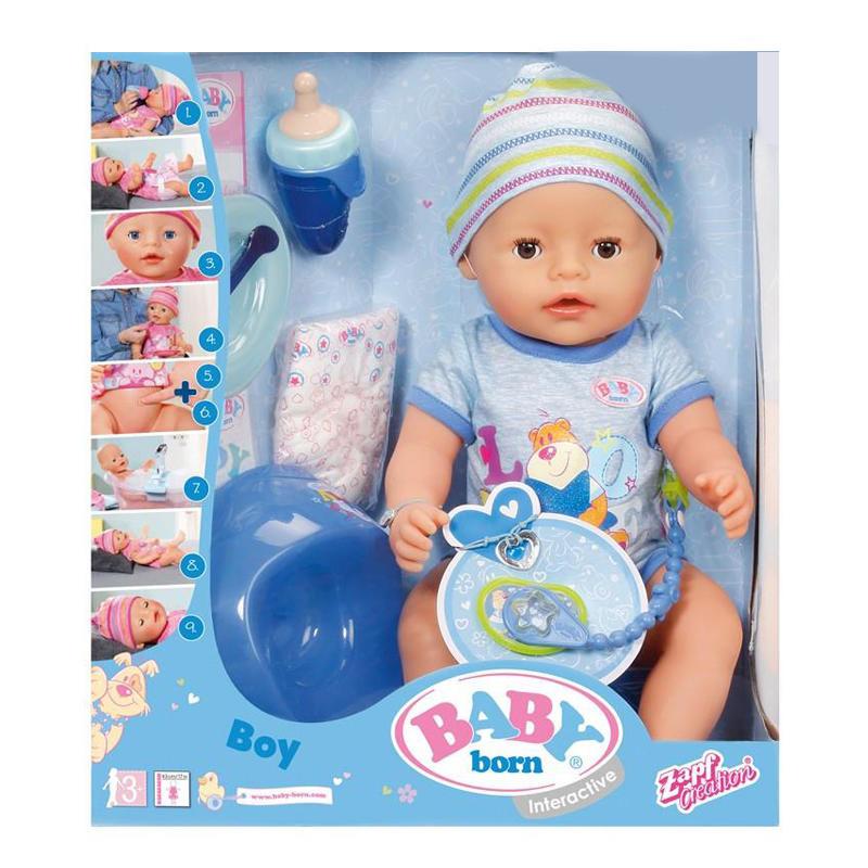Кукла BABY BORN - ОЧАРОВАТЕЛЬНЫЙ МАЛЫШ 822012