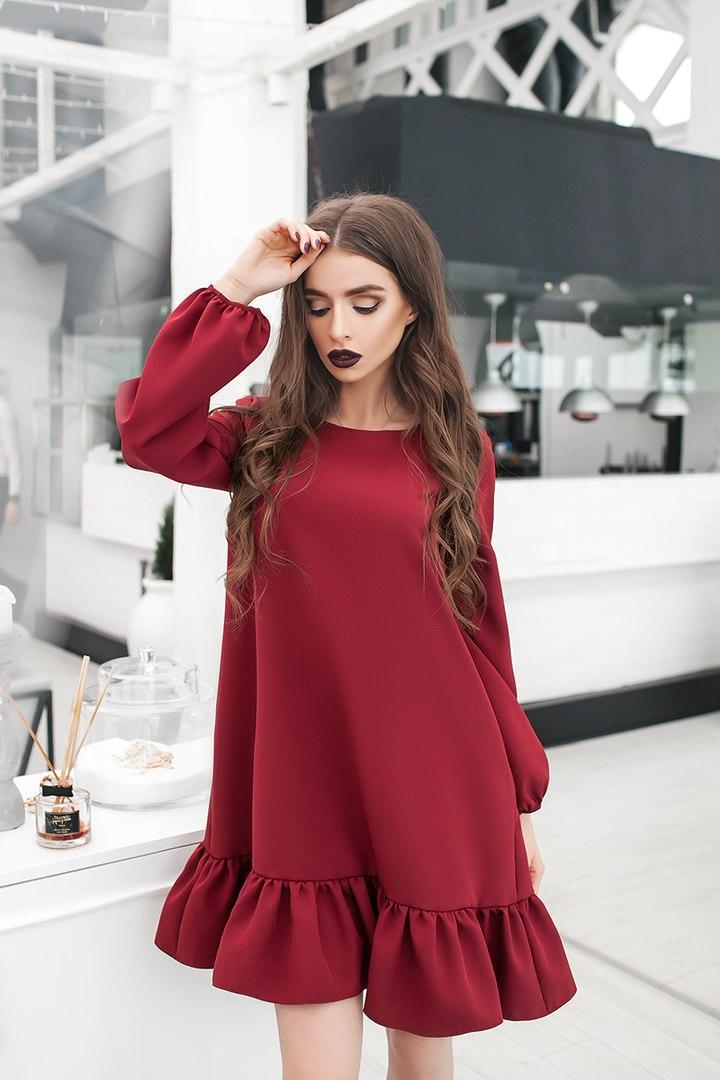 Платье женское  из крепа
