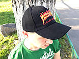 Кепка Cap by Thrasher черная. Живое фото! (Реплика ААА+), фото 2