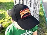 Кепка Cap by Thrasher черная. Живое фото! (Реплика ААА+), фото 3
