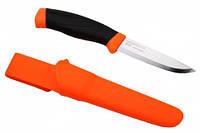 Нож туристический Morakniv Companion Orange (оранжевый)
